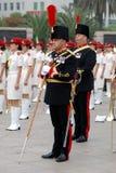 Bande militaire Image libre de droits