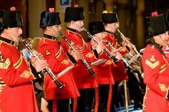 Bande militaire britannique Images libres de droits