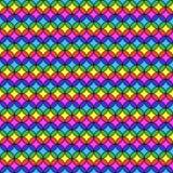 Bande multicolori circolari Fotografia Stock