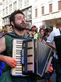 BANDE MUSICA, MILAN, ITALIE Images libres de droits