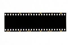 Bande noire de film Photographie stock libre de droits