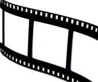 Bande noire et blanche de film Photos stock