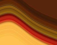 Bande ondulate illustrazione di stock