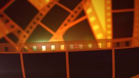 Bande Rolls de film de Hollywood Illustration Libre de Droits