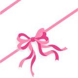 Bande rose + fichier d'ENV Photos stock
