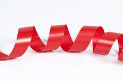 Bande rouge Photo stock