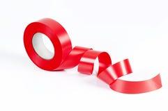 Bande rouge Photo libre de droits