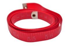 Bande rouge de forme physique Photographie stock