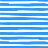 Bande spazzolate blu nel fondo bianco illustrazione di stock