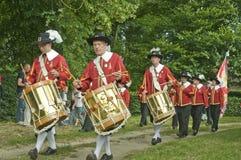 Bande traditionnelle de musique de guilde Image libre de droits
