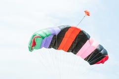 Bande variopinte del paracadute Immagini Stock Libere da Diritti