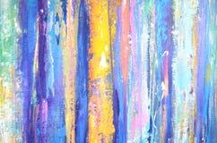 Bande verticali di colore Contesto con le linee acriliche ornamento Modello di lerciume Allinea la priorità bassa Fotografia Stock Libera da Diritti