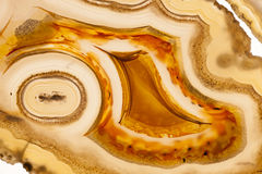 Banded Agate mineral Royalty Free Stock Photo