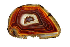 Banded Agate -- Scottish Pebble Royalty Free Stock Photo