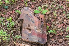 Banded Hematite Jasper royalty free stock images