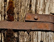 A banded old wood Royalty Free Stock Photos