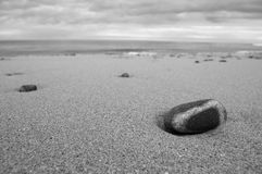 Banded Pebble Royalty Free Stock Photography