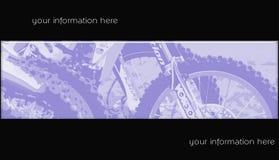 Bandeira 06 do motocross Imagens de Stock