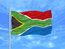 Bandeira 1 de África do Sul ilustração royalty free