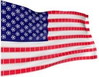 Bandeira 1 do filme Imagem de Stock