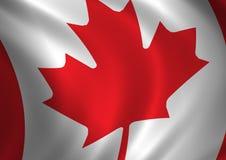Bandeira #2 de Canadá Fotos de Stock Royalty Free