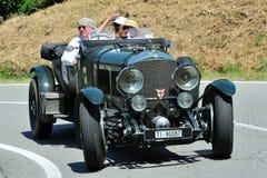 Bandeira 2012 de Siler - velocidade seis 1929 de Bentley Fotos de Stock Royalty Free