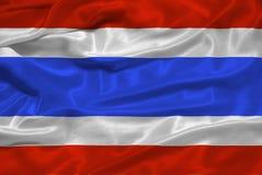 Bandeira 3 de Tailândia Fotos de Stock Royalty Free