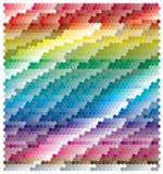 Bandeira abstrata colorida ilustração royalty free