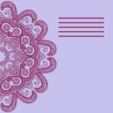 Bandeira abstrata do vetor Ilustração do vetor Fotografia de Stock Royalty Free