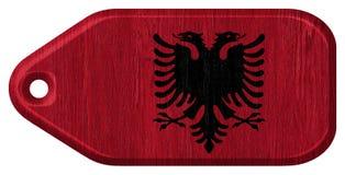 Bandeira albanesa Fotos de Stock