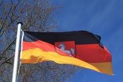 Bandeira alemão Fotos de Stock