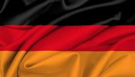 Bandeira alemão - Alemanha Fotografia de Stock Royalty Free