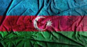 Bandeira amarrotada Grunge de Azerbaijão rendição 3d Fotografia de Stock Royalty Free