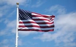 Bandeira americana Imagem de Stock