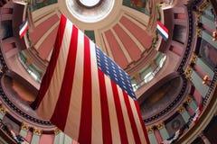 Bandeira americana Imagem de Stock Royalty Free