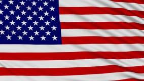 Bandeira americana. ilustração stock