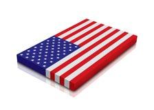 Bandeira americana ilustração do vetor
