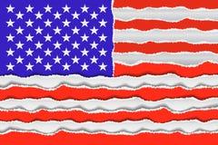Bandeira americana abstrata Imagem de Stock