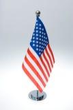 Bandeira americana da tabela Imagens de Stock