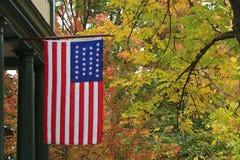 Bandeira americana de 26 estrelas Fotos de Stock Royalty Free