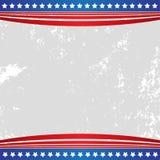 Bandeira americana dos EUA do fundo patriótico ilustração stock