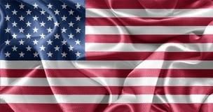 Bandeira americana EUA Fotos de Stock Royalty Free