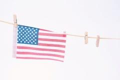Bandeira americana para Memorial Day ou o 4o de julho Foto de Stock