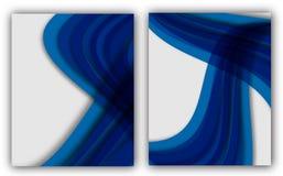 Bandeira anual abstrata do original de Infographic da página do compartimento do molde do cartaz da capa do livro do folheto da d Fotos de Stock Royalty Free