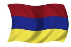 Bandeira arménia Fotografia de Stock Royalty Free