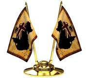 Bandeira australiana Imagem de Stock Royalty Free
