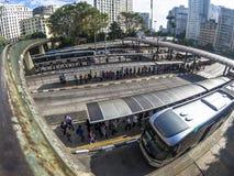 Bandeira-Autobusstation lizenzfreie stockfotografie