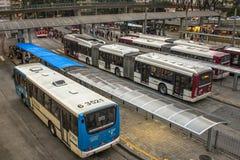 Bandeira-Autobusstation lizenzfreie stockfotos