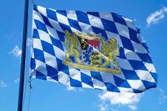 Bandeira bávara   Imagens de Stock