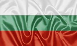 Bandeira búlgara - Bulgária fotografia de stock royalty free